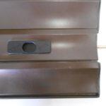 Catenacciolo montato è un catenacciolo in acciaio che viene inserito nella stecca della tapparella per bloccarla
