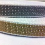 Cintino di manovra in polipropilene fibrillato bicolore, beige e grigio