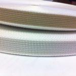 Cintino di manovra in polipropilene multibava bicolore beige e grigio