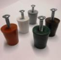 Tappi d'arresto per tapparelle, lunghezza 26 mm, disponibili in diversi colori