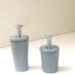 Tappi d'arresto per tapparelle: confronto tra tappo lungo (39 mm) e tappo standard (26 mm)
