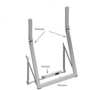 Telai a sporgere a leva centrale o laterale per far entrare aria e luce anche con la tapparella abbassata